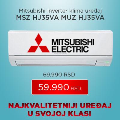 Mitsubishi inverter klima uređaj MSZ HJ35VA MUZ HJ35VA - Cool Shop