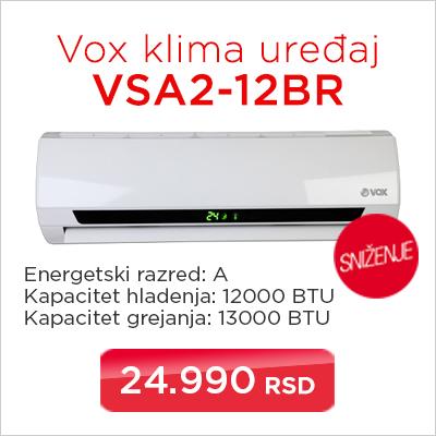 Vox klima uređaj VSA2-12BR - Cool Shop
