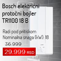 Bosch električni protočni bojler TR1100 18 B - Cool Shop