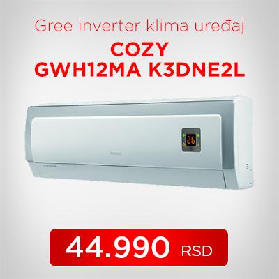 Gree inverter klima uređaj COZY GWH12MA K3DNE2L - Cool Shop