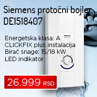 Siemens protočni bojler DE1518407 - Cool Shop