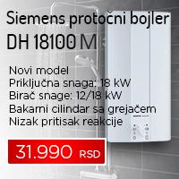 Siemens protočni bojler DH 18100 M - Cool Shop