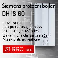 Siemens protočni bojler DH 18100 - Cool Shop