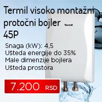 Termil visoko montažni protočni bojler 45P - Cool Shop