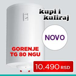 Gorenje bojler TG 80 NGU - Cool Shop