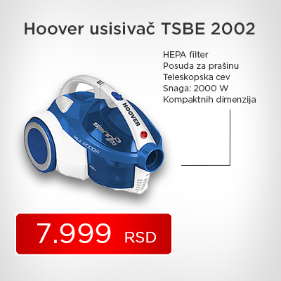 Hoover usisivač TSBE 2002 - Cool Shop