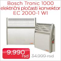 Bosch Tronic 1000 električni pločasti konvektor EC 2000-1 WI