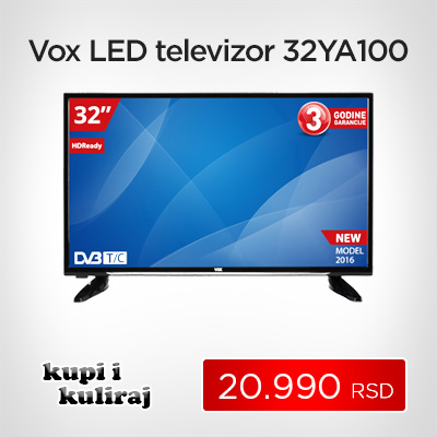 Vox LED televizor LED 32YA100 - Cool Shop
