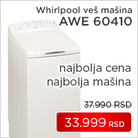 Whirlpool veš mašina AWE 60410 - Cool Shop