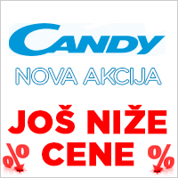 Prava velika ponuda Candy 70 godina - Cool Shop - Candy bela tehnika i ugradna tehnika