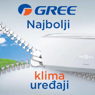 Gree najbolji klima uređaji - Cool Shop