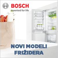 Novi modeli BOSCH kombinovanih frižidera - Cool Shop