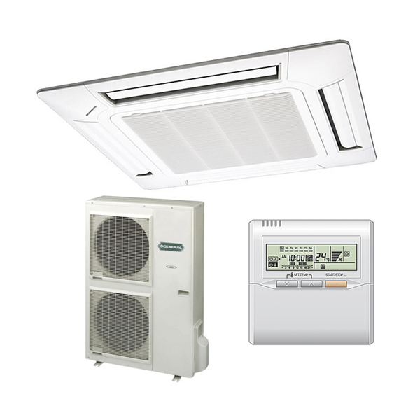 Fujitsu General inverter cassette klima uređaj AUHA45LCLU/AOHA45LCLL/UTGUGGA - Cool Shop