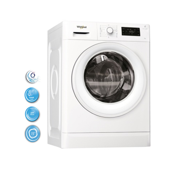 Whirlpool mašina za pranje veša FWSG61253W - Cool Shop