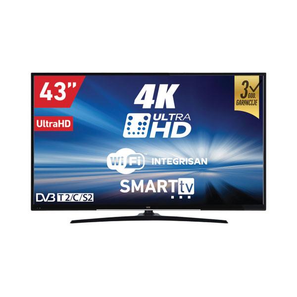 Vox televizor smart tv led UHD 43DSW293V - Cool Shop