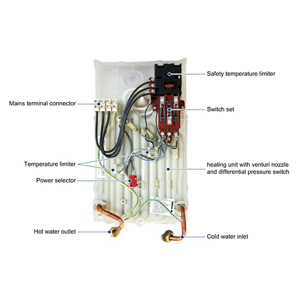 Bosch električni protočni bojler TR 2000 18 B 736504721