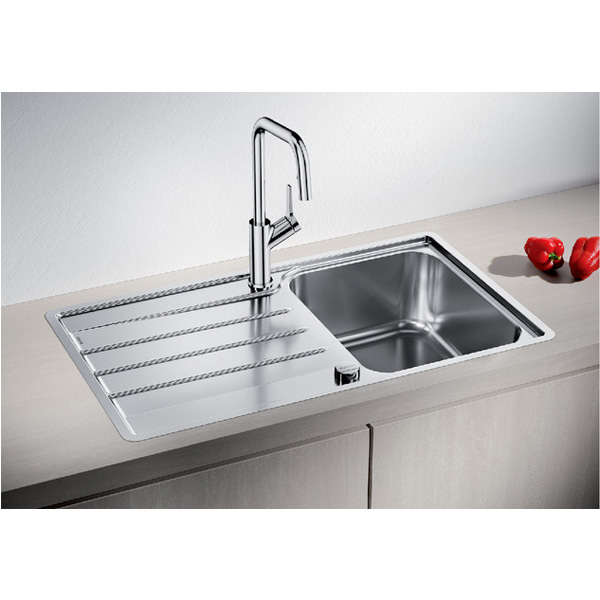 Blanco sudopera LEMIS 45 S-IF sa podizačem cepa + završni sifon - Cool Shop
