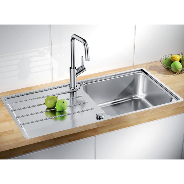Blanco sudopera LEMIS XL 6 S-IF sa podizačem čepa + završni sifon - Cool Shop