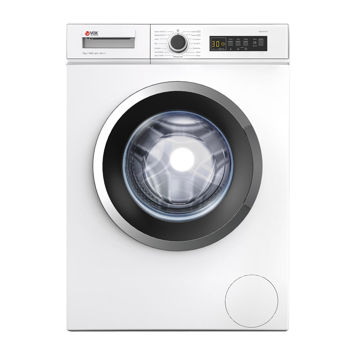 VOX Mašina za pranje veša WM 1075 YTQ - Cool Shop