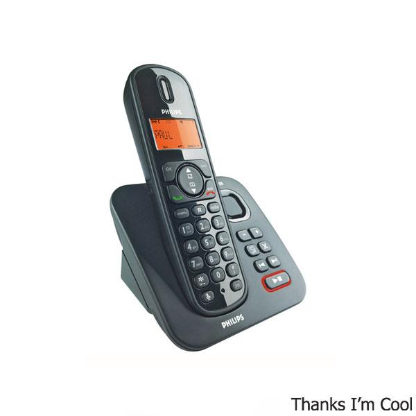 Радиотелефон philips cd6951b (черный) : в наличии
